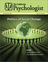 California Psychologist cover